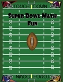 Super Bowl Fun with Math