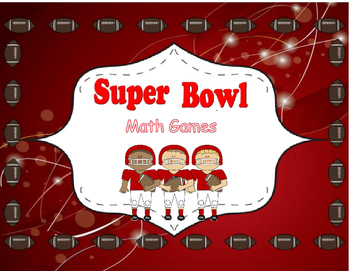 Super Bowl Math Games
