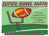 Super Bowl Math Unit 2017 - Updated!