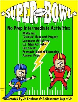 Super Bowl No Prep Intermediate Unit