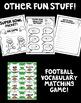 Super Bowl Pack! Super Bowl Themed Vocabulary, Math, & Writing!