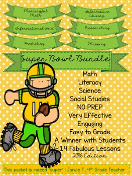 Super Bowl Super Lessons! UPDATED for 2016!