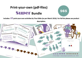 Super Bundle (print-your-own pdf files)