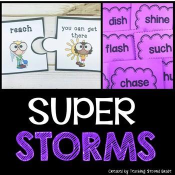 Super Storms Journeys for Second Grade