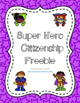 Super Citzenship Freebie