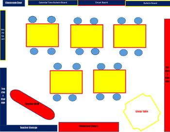 Super Classroom Seating Chart
