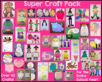 Super Craft and Activity Pack - 43 Crafts and Activities f