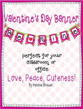 Super Cute Valentine's Day Banner!