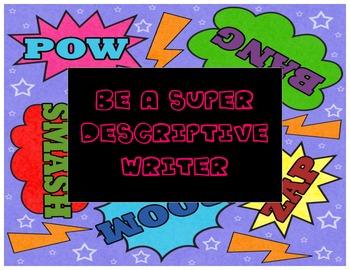 Super Descriptive Writing Pack