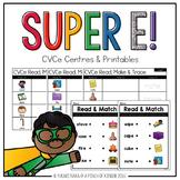 Super E!: CVCe Centres & Printables
