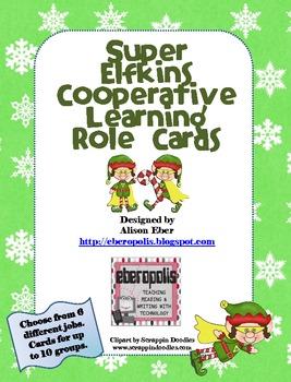 Super Elfkins Cooperative Learning Role Cards