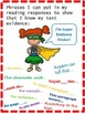 Super Evidence Finder!  Close Reading Poster and Readers N