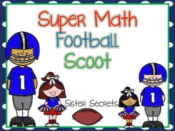 Super Football Math Task Cards/Scoot