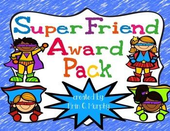 Super Friend Award Pack
