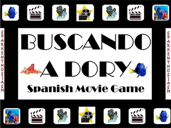 Super Fun Spanish Movie Scenes Game - Finding Dory - Busca