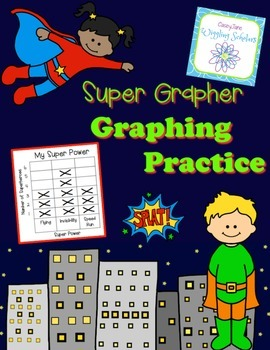Graphing and Tally Marks: Super Hero Themed!