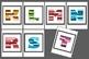 Super Graphic Alphabetical Vocabulary Flyers