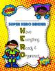 Super H.E.R.O. Binder Cover, Behavior Log, Newsletter, Par