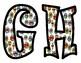 Super Hero Alphabet Bulletin Board Letters