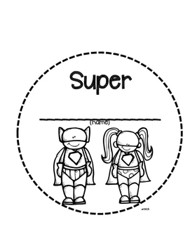 Super Hero Book
