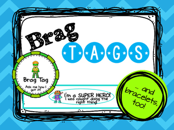 Super Hero Brag Tags