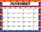 Super Hero Calendar