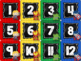 Super Hero Calendar Set {Chalkboard & Bright Primary Stripes}