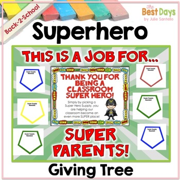 "Super Hero ""Giving Tree"""