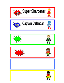Super Hero Jobs