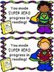 Super Hero Progress Positive Notes
