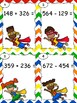 Super Hero QR Code 3 Digit Addition and Subtraction with R