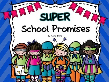 Super Hero School Promises