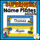 Super Hero Theme Decor {Back to School Classroom Decor Bundle}