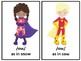 Super Hero Theme Phonics Centers