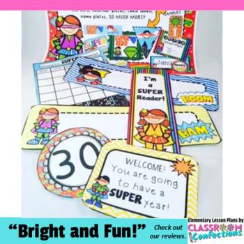 Super Hero Decor: Super Hero Themed Classroom Decor
