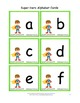 Super Hero Word Families