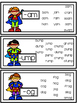 Super Hero Word Family Cards