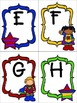 Super Hero Write the Room ABC's