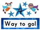 Super Hero themed Star Behavior Management Clip Chart