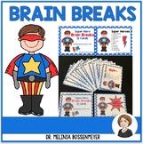 Super Heroes Brain Break Cards