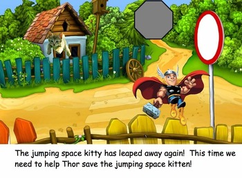 Super Heroes Save the Space Kittin's--by Mrs. Davenport