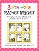 Super Hero Teacher Tracker: A Superhero Themed Classroom M