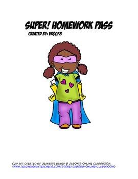 Super Homework Pass