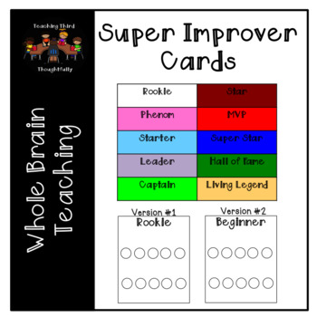 Super Improver Wall Punch Cards
