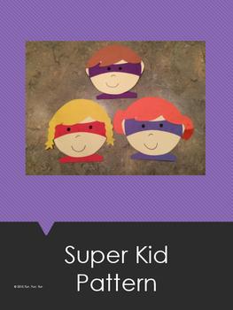 Super Kid Art Pattern