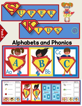 Super Kids Alphabet and Phonics (Pack 2)