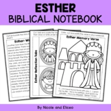 Queen Esther Interactive Notebook Bible Unit