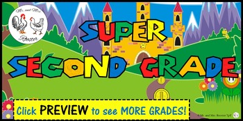 Super Mario Class Poster or Welcome Sign {PK-8}
