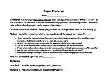Super Math Challenge!