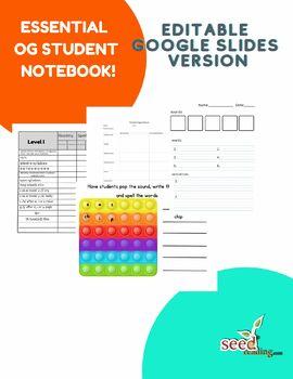 Super Orton Gillingham Student Notebook Resource Kit!
